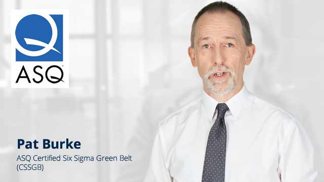ASQ Certified Six Sigma Green Belt Course