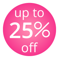 up to 25% Discount