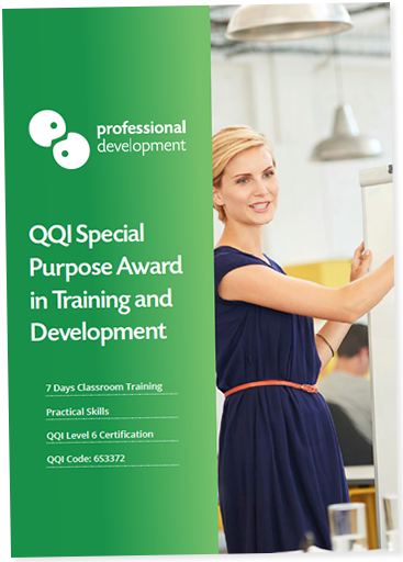 Download our QQI Special Purpose Award Brochure