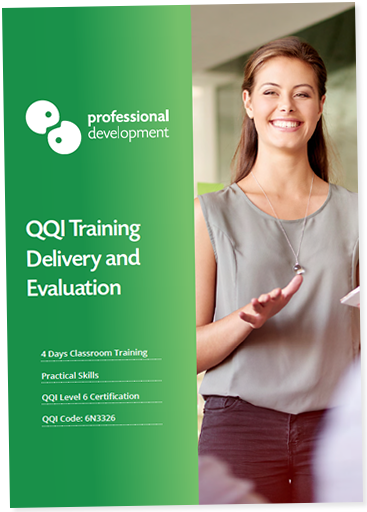 Download our QQI Training Delivery & Evaluation Brochure