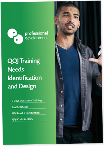 Download our QQI Training Needs Identification & Design Brochure