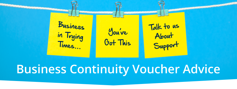 Business Continuity Voucher Advice