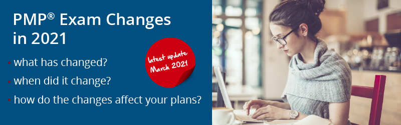 PMP Exam Changes in 2020