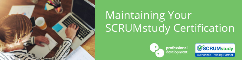 SCRUMstudy Recertification Information