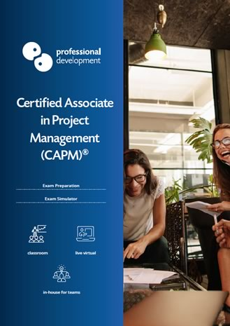 CAPM Exam Preparation Course Brochure