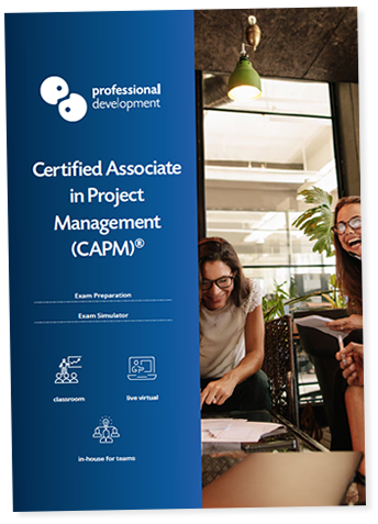 CAPM® Exam Preparation Project Management Course Brochure
