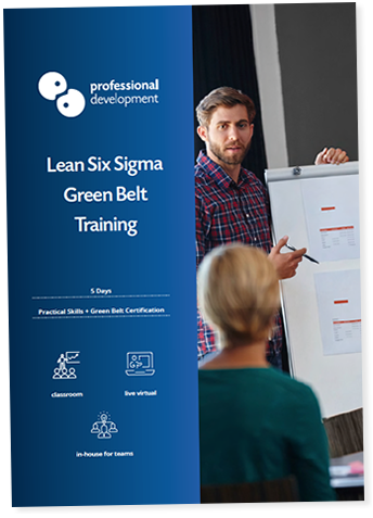 Certified Lean Six Sigma Green Belt Course For Business Brochure