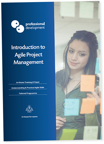 Introduction to Agile Project Management Brochure
