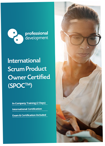Scrum Product Owner Certified (SPOC<sup>TM</sup>) Brochure