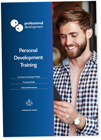 Personal Development Training Course Brochure