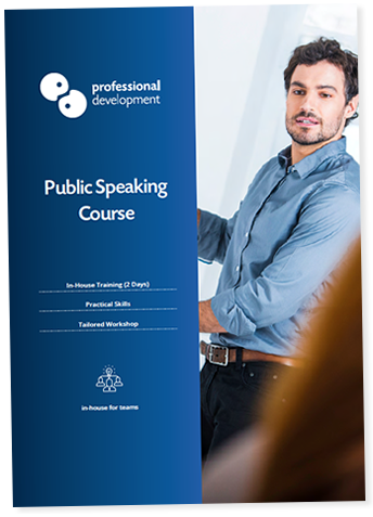 Public Speaking Course Brochure