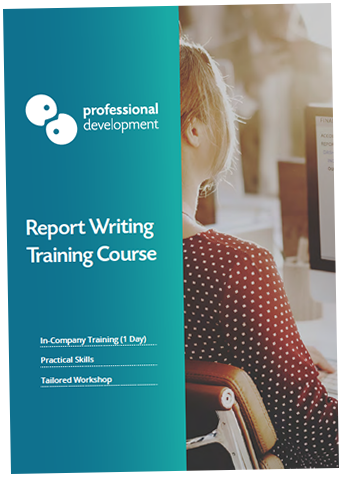 Report Writing Training Course Brochure