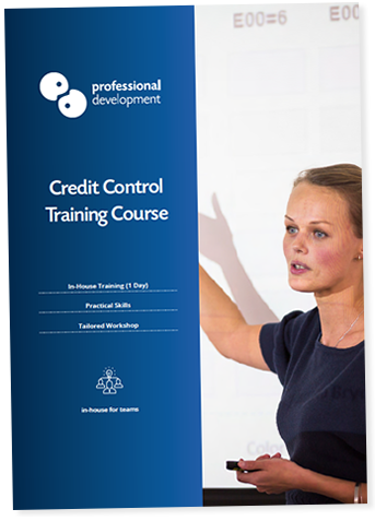 Credit Control Training Course Brochure