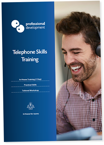Telephone Skills Training Course Brochure