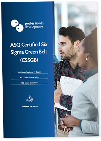 ASQ Certified Six Sigma Green Belt Course Brochure