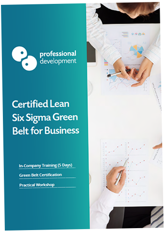 Certified Lean Six Sigma Green Belt In-Company Brochure