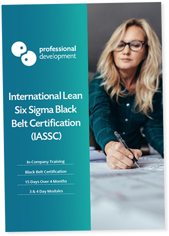 Lean Six Sigma Black Belt In-Company Brochure