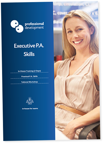 Executive PA Training Course Brochure