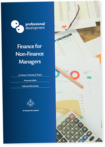 Finance for Non-Finance Managers Course Brochure