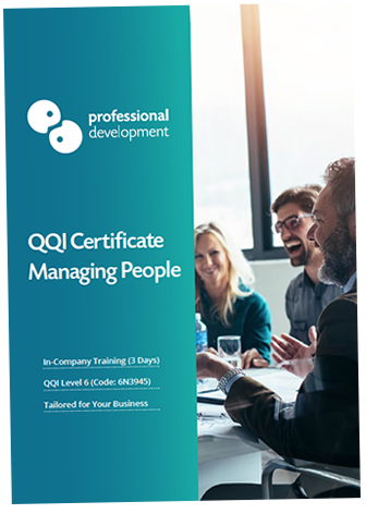 QQI Certified Managing People Course In-Company Brochure