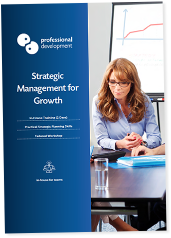 Strategic Management For Growth Course Brochure