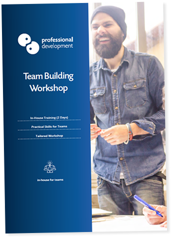 Team Building Training Course Brochure