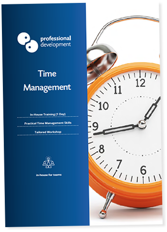 Time Management Training Course Brochure