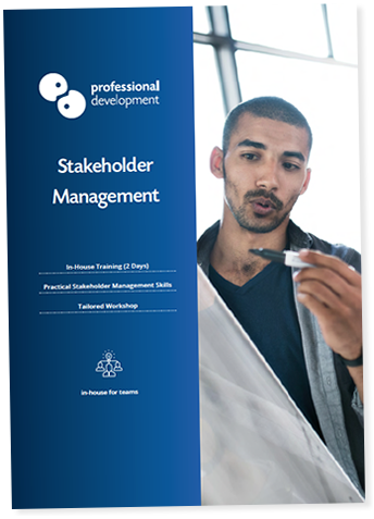 Stakeholder Management Course Brochure
