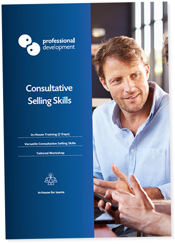 Consultative Selling Skills Course Brochure