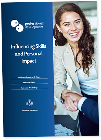 Influencing Skills and Personal Impact Course Brochure