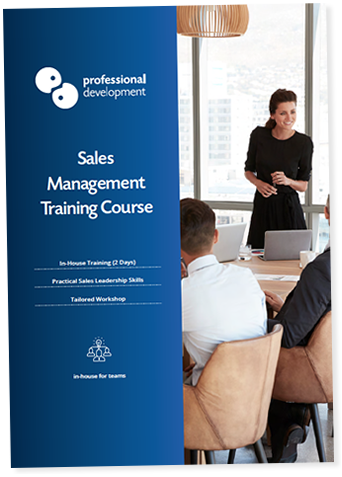 Sales Management Training Course Brochure