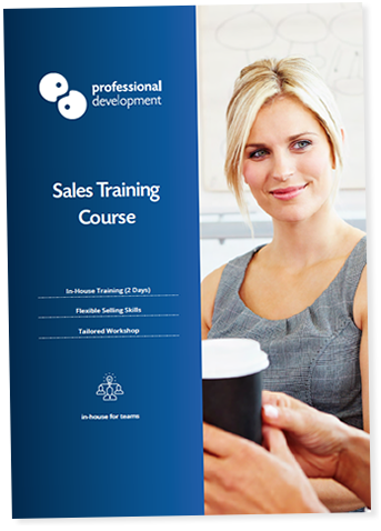 Sales Training Course Brochure