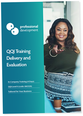 Training Delivery and Evaluation Course In-Company Brochure