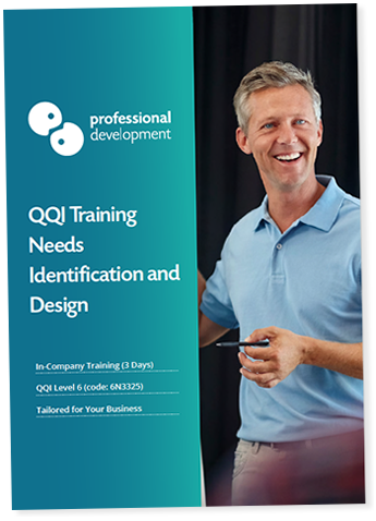 Training Needs Identification and Design Course In-Company Brochure