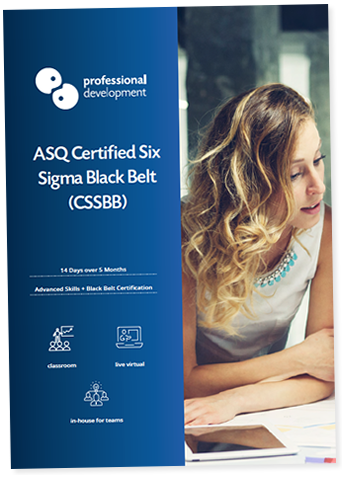 International Lean Six Sigma Black Belt Training Course (IASSC) Brochure