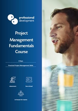 Project Management Fundamentals Brochure