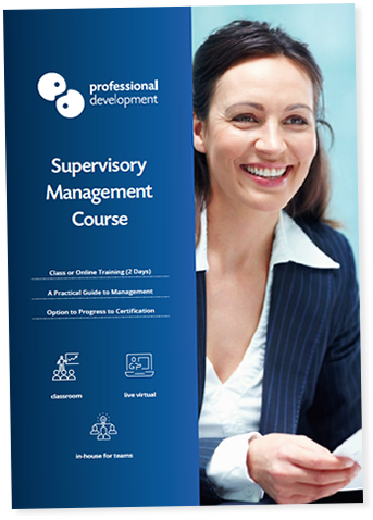 Supervisory Management Courses Dublin Brochure