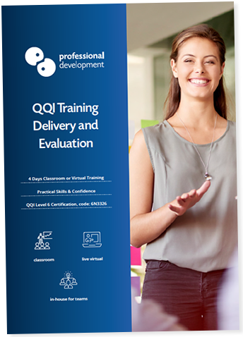 Training Delivery & Evaluation Course Brochure