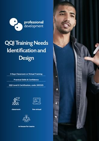 Download QQI Training Needs Identification & Design Brochure