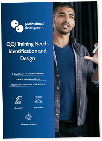 Training Needs Identification & Design Course  Brochure