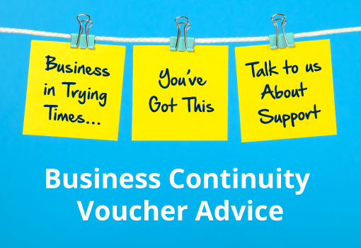 Get Business Continuity Voucher Advice