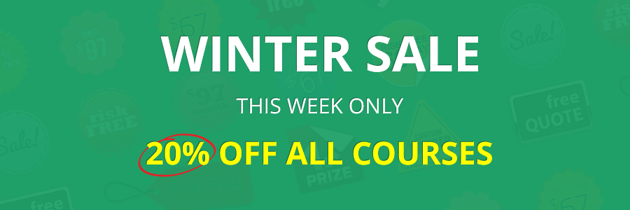 20% OFF All Courses