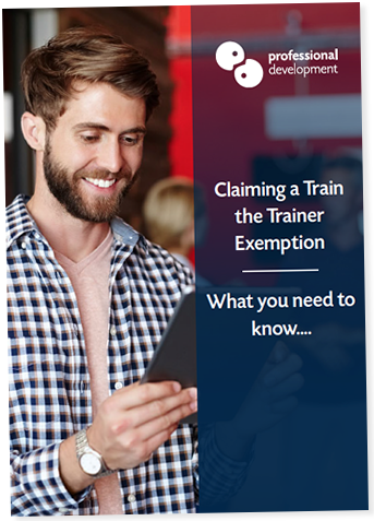 Train The Trainer Exemption Guide