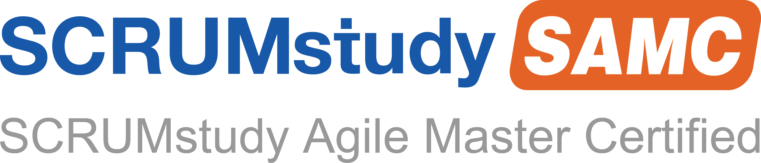 SCRUMstudy Agile Master Certified Logo
