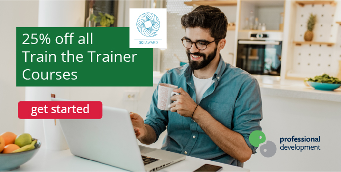 25% Off Train the Trainer Courses