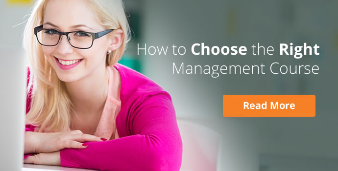How to Choose the Right Management Course