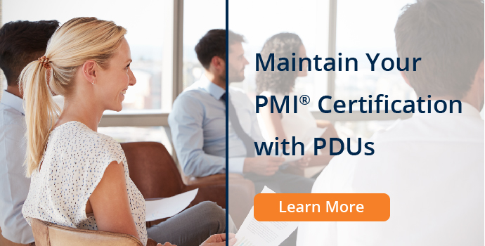 Maintaining your PMI Credential (PDUs)