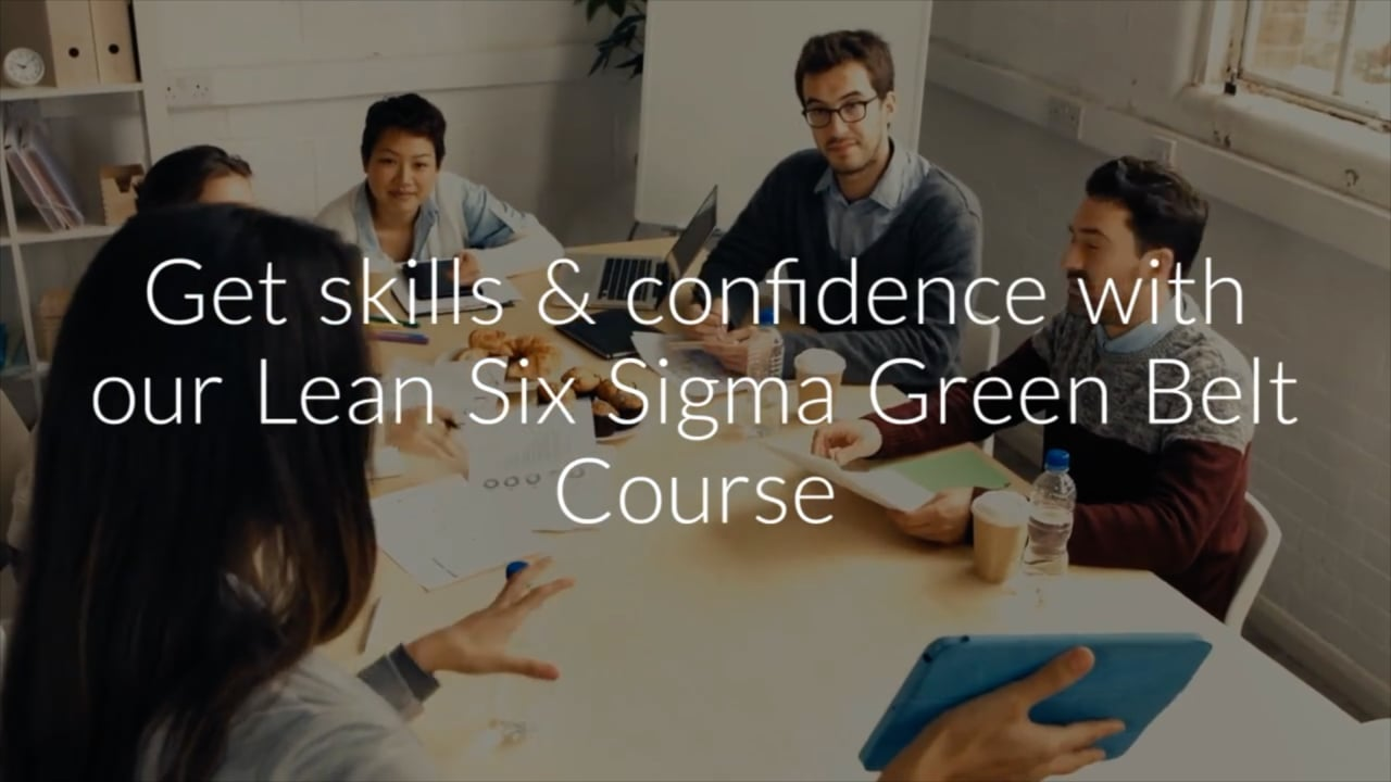 Certified Lean Six Sigma Green Belt Course For Business 5 Days